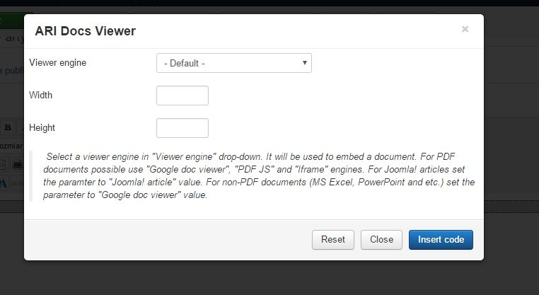 ARI Soft - Problem with Button - ARI Doc Viewer - ARI Soft Forum